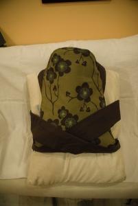loyal subject a.k.a. pillow wearing the mei tai